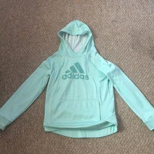 Sea foam Green Adidas Hoodie